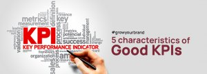 Characteristics of good KPIS